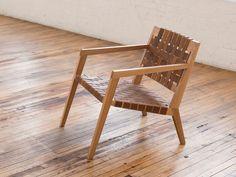 "Nadine Lounge Chair by Phloem Studio,  28"" tall,  25"" wide, 29"" deep"