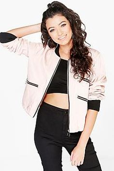 Bomber jackets | Womens Floral & Vintage Bombers | boohoo