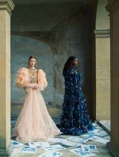"""""""The Collections"""" by Erik Madigan Heck for Harper's Bazaar UK February 2017"""