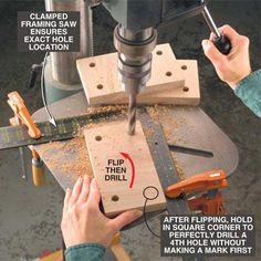 Quick drilling
