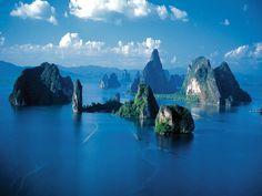 Baie de Phang nga, Thaïlande