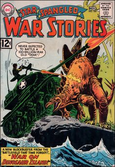 Star Spangled War Stories #105, Nov. 1962. Cover art by Ross Andru and Mike Esposito.