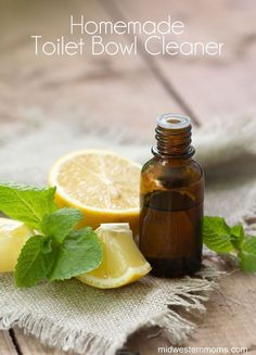 Homemade Toilet Cleaner! Only a 3 ingredients needed and I bet you already have at least 2 of them! Save yourself from the harsh smell of other cleaners.