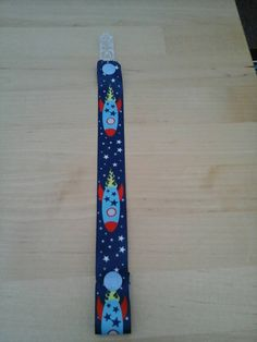 Check out this item in my Etsy shop https://www.etsy.com/uk/listing/257651491/boys-rocket-clip-strap