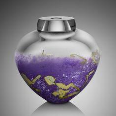 Solinglass - Orchid Emperor Bowl - FireArtsVT.com