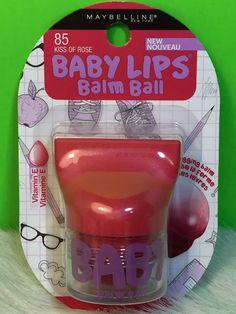 Maybelline Baby Lips Balm Ball 85 KISS OF ROSE Tinted Lip Balm New Gift  #BabyKiss