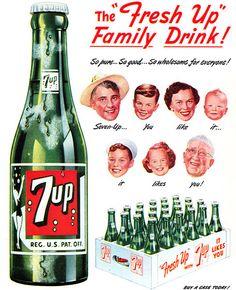 Aynı zamanda bir aile içeceği olan 7UP'ın bir başka reklamı
