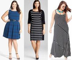 Moda Estilo Y Distinción Para Gorditas: Blusas y Vestidos Para Gorditas-