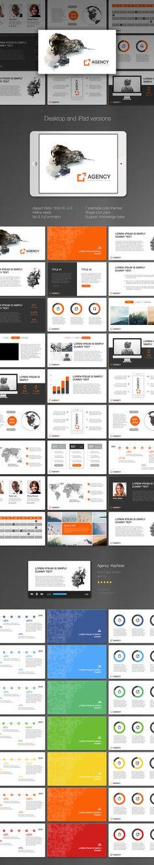 Agency KeyNote - Keynote Creative Presentation Template by Keynote Presentation, Project Presentation, Presentation Slides, Presentation Design, Creative Powerpoint Templates, Powerpoint Presentation Templates, Keynote Template, Keynote Design, Ipad