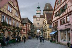 Rothenburg, the romantic ancient city!