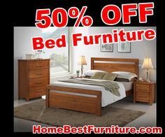 SALE 50 PERCENT OFF Discount Georgia Queen Timber Bed Furniture