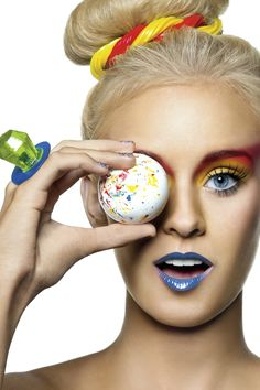 Unique fashion photography fantasy candy girl #UNIQUE_WOMENS_FASHION http://stores.ebay.com/VibeUrbanClothing