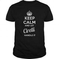 CIRELLI - #retirement gift #shirt for women. ORDER NOW => https://www.sunfrog.com/LifeStyle/CIRELLI-100279064-Black-Guys.html?60505
