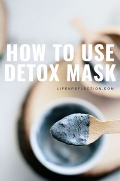 Here's the steps you should take to get the best results with a Detox Face Mask for Acne Charcoal Face Mask Diy, Activated Charcoal Face Mask, Clean Beauty, Diy Beauty, Beauty Hacks, Diy Mask, Diy Face Mask, Face Mist, Beauty Recipe