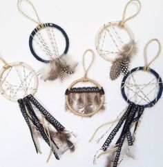 Boho Dream Catcher Favors by Bast and Bruin