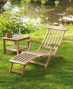 Queen´s Garden Sonnenliege Holz - Möbel Mit www.moebelmit.de