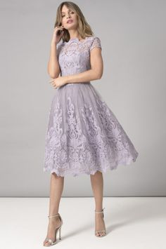 Chi Chi Nia Dress from Chi Chi London inspired by this season's catwalk trends, whatever the occasion, look great in one of our stunning designs. Modest Bridesmaid Dresses, 50s Dresses, Cute Dresses, Vintage Dresses, Fashion Dresses, Elegant Dresses, Homecoming Dresses, Lavender Dress Formal, Lavender Dresses