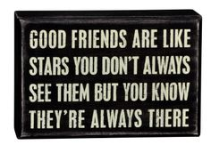 Good Friends - Box Signs 17423 | Primitives by Kathy