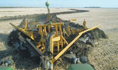 Why would a farmer bother to design a new ditcher from scratch, considering the wide variety of options already on the market?For Jeff Penner, it was all Tractor Attachments, Crawler Tractor, Down On The Farm, New Holland, Heavy Equipment, Farms, Westerns, Construction, Snow
