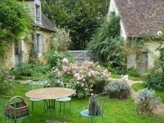 French country garden near Belleme.