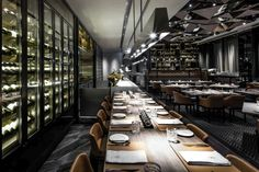 Porterhouse by Laris Restaurant by Kokaistudios, Hong Kong » Retail Design Blog
