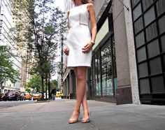 The Classy Cubicle: Summer White