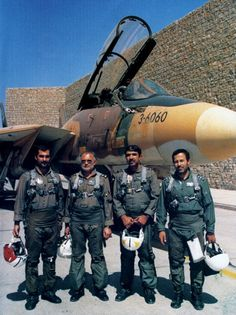 Iranian F-14 pilots were part of an air force that endured 12-hour combat air patrols.