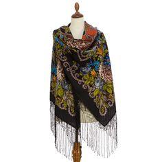 Цыганка Аза - 27 * Павловопосадские платки и шали * Russian Pavlovo Posad shawls