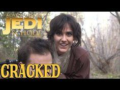 Adventures in Jedi School - Star Wars Spoof - YouTube