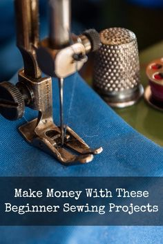 Learn to sew a simple cloth bag, an apron and a pillowcase to make some extra money!