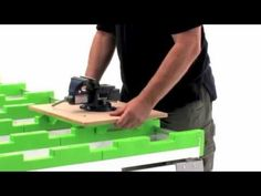 BenchMark Portable Work Table - Work Bench & Cutting Table - YouTube Woodworking Bench, Woodworking Projects, Portable Work Table, Furniture Box, Portable Workbench, Plywood Sheets, Work Surface, Tool Storage, Diy Table