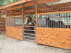 These stalls are now a open shelter