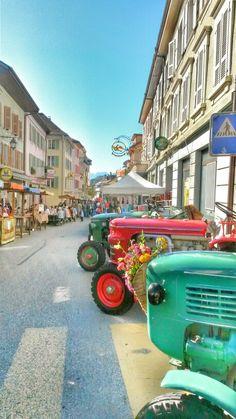 Marché de la Bénichon, Châtel-St-Denis St Denis, Zermatt, European Countries, Dream Vacations, Switzerland, Travel Inspiration, Places, Traveling, Nature
