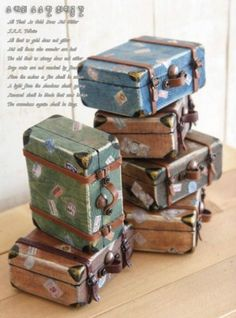 how to: suitcases