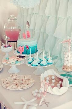 Hostess with the Mostess® - Enchantment Under the Sea Mermaid Birthday Party