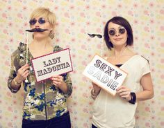 ha ha!  Love the mustaches, but would 11 year olds at a birthday party have fun or just think it is weird?