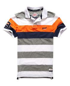 Superdry Duo Hoop Stripe Polo Shirt