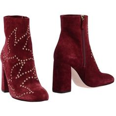 Red(v) Ankle Boots