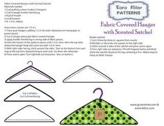 Love this DIY for fabric covered hangers for ...