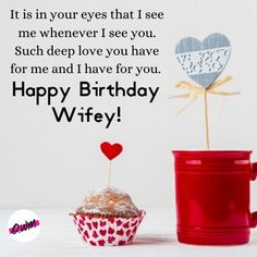 We have covered for you Romantic Happy birthday wishes for wife, funny birthday quotes for wife, best bithday messages, status, greetings with images that you can say and send on her birthday. Wife Birthday Quotes, Birthday Wishes For Wife, Wife Quotes, Love And Respect, Romantic Quotes, How Beautiful, Funny Quotes, Messages, Live