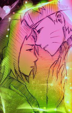 Sakura hold hand on heart Naruto/Emotional scene for NaruSaku Shippuden