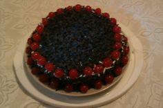 Tarta de trufa Blackberry, Raspberry, Fruit, Food, Truffles, Blackberries, Essen, Raspberries, Yemek