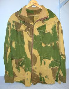 1967 Dated, British Camouflaged 1959 Pattern Denison Smock By BMC, Size No.2. Sn 10018