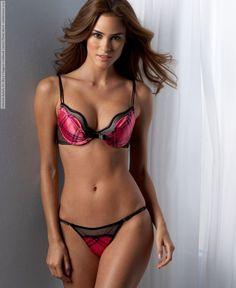 Gabriela Rabelo for Macy's lingerie lookbook (2010) Photo shoot
