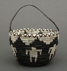 Horsehair basket