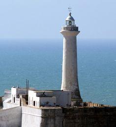 Rabat Light, Rabat, Morocco