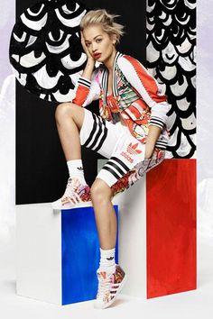 A(z) 49 legjobb kép a(z) Rita Ora adidas collection táblán  bffe349e42