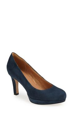 good basic pump in several color options. Clarks® 'Delsie Bliss' Platform Pump (Women) available at #Nordstrom