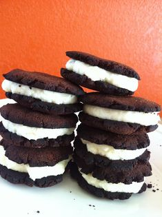 Esther's Food Creations: Chocolate Mint Cookies