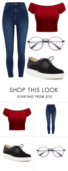 """Untitled #126"" by kimmie-aiken on Polyvore featuring River Island and Dr. Scholl's"